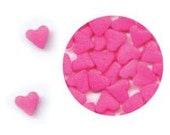 Mini Pink Heart Confetti Sprinkles (4 ounces) 1/4 pound