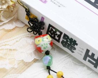 Hoot hoot red owl bookmark (BM)
