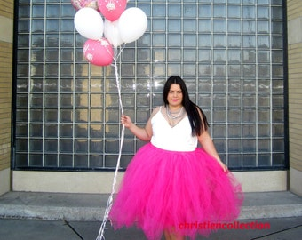 "Fully lined Sewn in Tutu skirt 30"" long customize your size priority shipping CHOOSE YOUR COLOR"