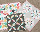 Sweetness (a trio of mini quilts) Pattern #105 PDF quilt pattern