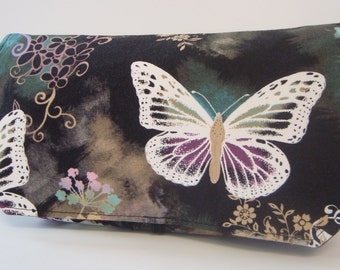 Coupon Organizer /Budget Organizer Holder  / Attaches To You Shopping Cart -  Butterfly Dreams