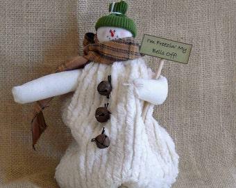 Freezing My Bells Off Little Snowman