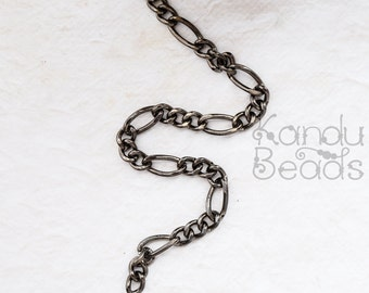 CLEARANCE - 6 Feet Bright Silver Zinc Alloy cable Chain, Purse Chain Very BIG HEAVY 8x11mm Steampunk enough for 6 generous necklaces