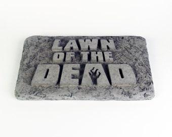 Lawn of the Dead, garden stone
