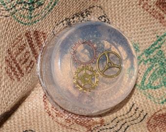 Steampunk Gear Glycerin Soap In Clockwork
