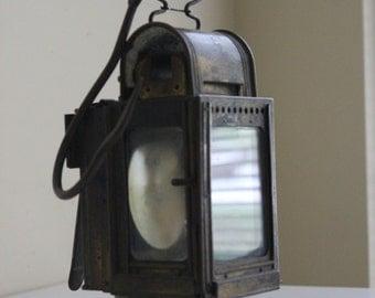German Railroad Lamp. Berlin 1927