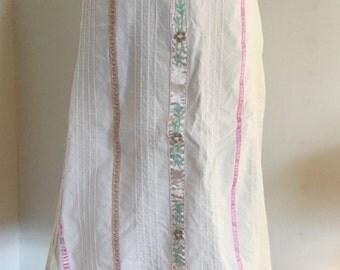 Vintage Bohemian Prairie Skirt
