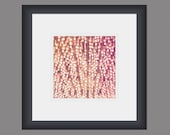 Glitz - pink abstract nightlife glamour photography print
