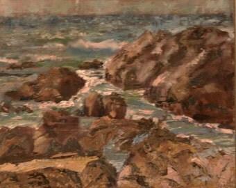 Monterey, Oil on canvas
