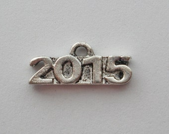 2015 Year Charm  Lead and Nickel Free (12)