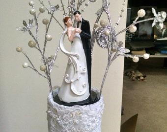 Beautiful wedding centerpiece
