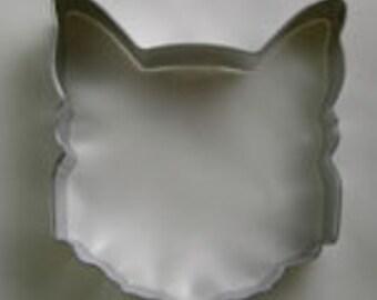 """Cat Face cookie cutter, 3.5"""" Cat cookie cutter"""
