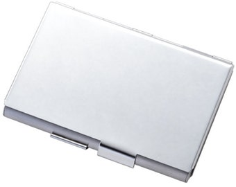 Custom Double Sided Business Card Holder W/ free Engrave