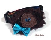 Chewbacca Chewie Star Wars  Dog Collar Size XS Through Large by Doogie Couture