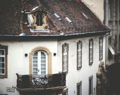 "Dreamy Europe Photo ""Castle Timber"" Fine Art Fairy Tale Photograph Print"