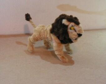 Fuzzy Figures- Lion