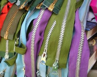 Metal Zippers