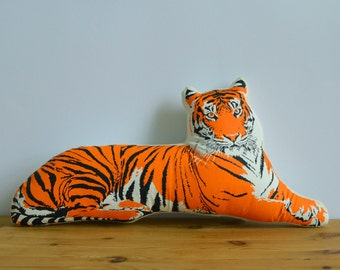 Plush Tiger Pillow