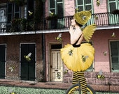 New Orleans BEE the UNICYCLE French Quarter performer