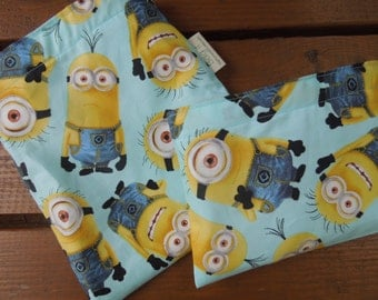 Reusable sandwich and/or snack bag - Minions