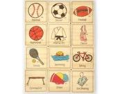 Sports Magnet Set