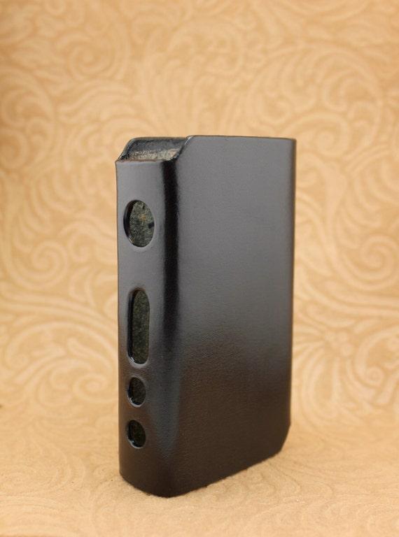 IPV3 Black E-Cig Mod Custom Leather Vaping Vape Sleeve Case Wrap for IPV V3 Ecig Vaporizer IPV3 Black E-Cig Mod Custom Leather Vaping Vape by SillyNilly - 웹