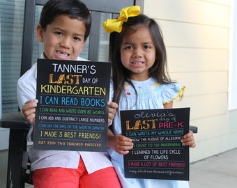 PRINTABLE Last Day of School Sign