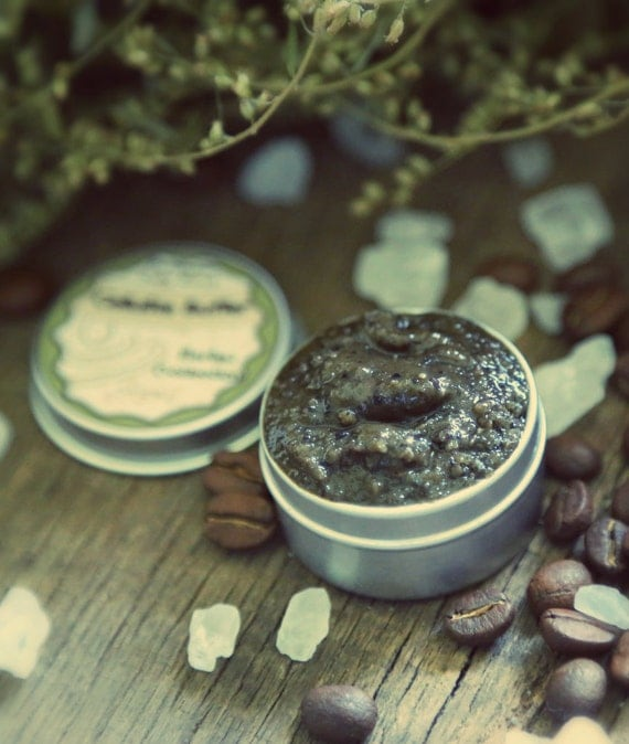 Cellulite Buffer Scrub organic and natural scrub from Herbal collection SAMPLE. SALE