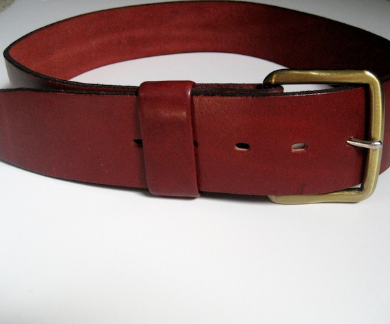 miller s tanned harness leather belt with brass