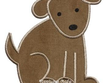 674 Puppy Dog Machine Embroidery Design
