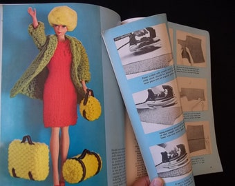 Original 1967 Vintage McCalls Knitting Magazine 60's era Styles to Knit 67 Pages