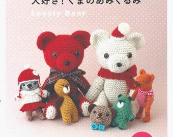 Lovely Bear - Japanese craft book