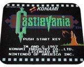 NES Mouse Pad - Castlevania