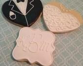 Wedding Cookie Sets-1 Dozen
