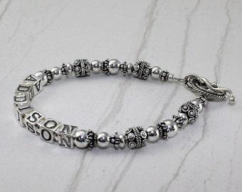 Sterling Silver Mother's Grandmother's Bracelet Special Price!