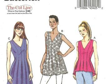 Butterick B6025 Dress Tunic Top Blouse size 16-24 FF New 2014