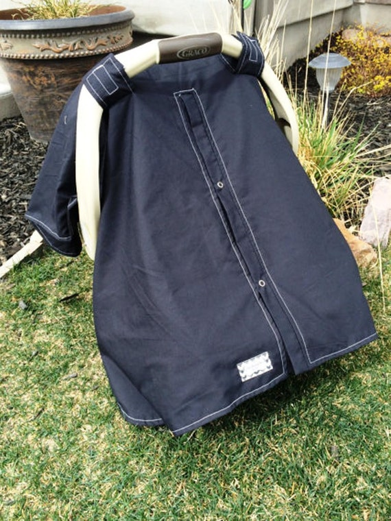 Carseat Canopy SOLID colors YOU pick color
