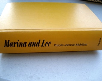 Marina and Lee Book, Lee Harvey Oswald, John F Kennedy, Oswald Book, Presidential assassination,