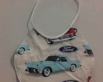 Reversible Infant Bib Ford Thunderbird 243751