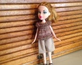 Ooak doll clothes fits bratz or moxie type dolls rescued doll clothes