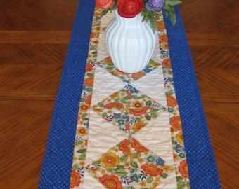 SALE Summer Flowers Table Runner
