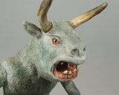 Reserved for damien59240 Horned Demon Satyr andHorned Devil Sculpture