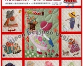 Chinese Edition Out-of-Print Japanese Craft Pattern Book Sunbonnet Sue Patchwork Bag Quilt Applique