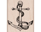 Anchor Rubber Stamp • Anchor Stamp (D6009)