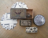 Metal Tins Watch Parts Hampden Watch Co Assemblage Collection