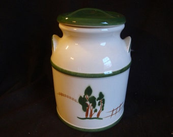 Large Milk Can Cookie Jar