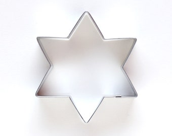 Star of David Cookie Cutter, Star Cookie Cutter, Metal Cookie Cutter