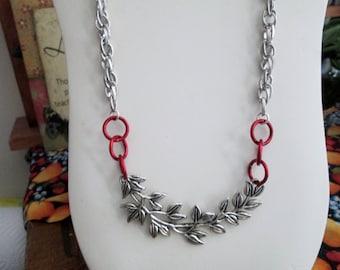 Aretha's Chain - Chain - Chain Diva Necklace -- Silver Willow Connector - Silver Chain - Strut Your Stuff Diva Girl