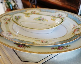 Vintage China Serving Set for Tea Parties, Bridal Luncheons, Showers
