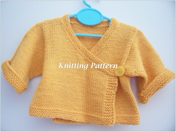 Free Knitting Pattern Baby Kimono Sweater : Baby Kimono Knitting Patterns For Your Next Knitting Project Or Baby Gift